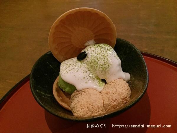 仙台上杉の和風カフェ「太郎茶屋鎌倉」は東北では唯一の出店。お土産にも買えるわらび餅が美味しい