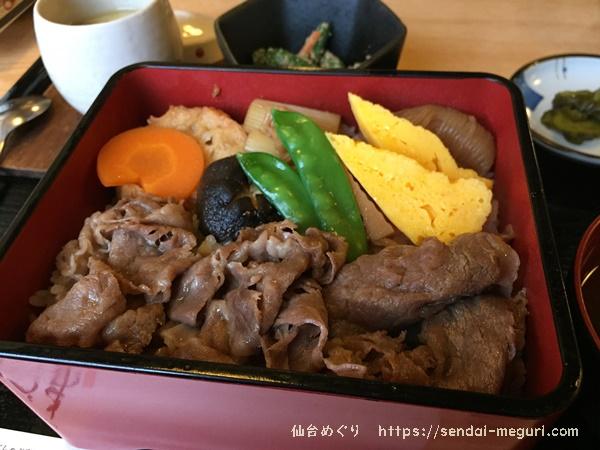 仙台「あづま」のすき焼きランチ