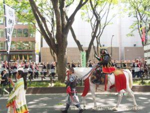 「仙台青葉まつり2019」本まつりの様子。伝統的な「梯子乗り」や「時代絵巻巡業」など見どころ満載
