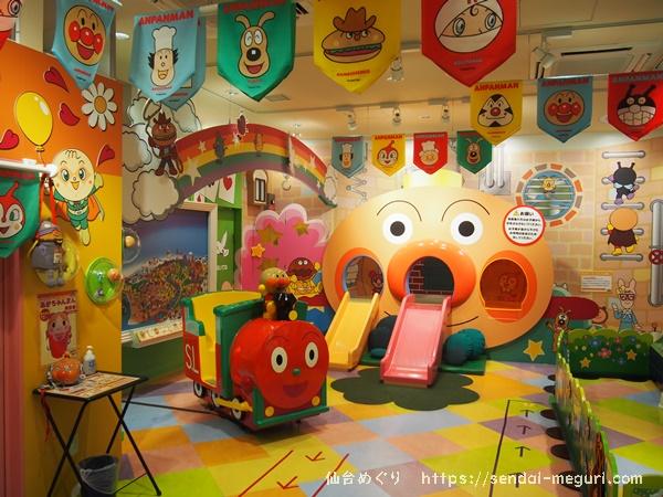 【完全ガイド】仙台アンパンマンミュージアムを無料で楽しめるエリアを全部まとめました