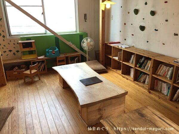 仙台のキッズスペースつきカフェ「ゼロ村カフェ」親子やママ友でのんびりランチを楽しめる