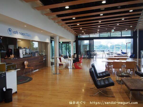 仙台カフェモーツァルトの店内の様子