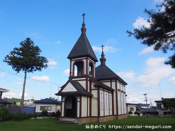 見学レポ|金成ハリストス正教会|田舎町にある異国感漂うレトロな西洋建築と創建の歴史