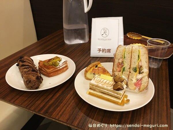 メゾンカイザー仙台 試食会