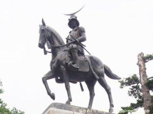仙台城の伊達政宗