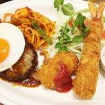 仙台の洋食「ハチ」のランチ
