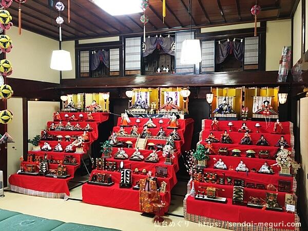 東松島「蔵しっくパーク」蔵のひなまつり