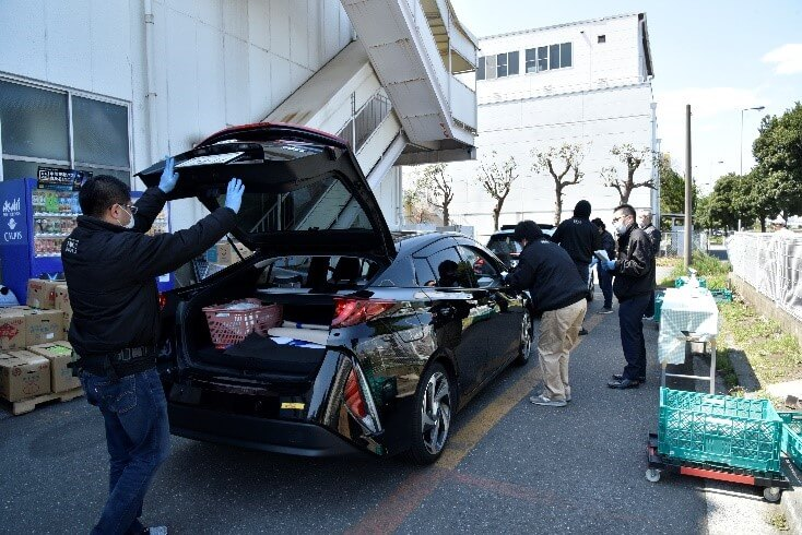 仙台のドライブスルー八百屋