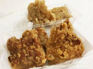 東仙台「石井商店」の唐揚げ食べ比べ。特大サイズで食べ応え十分