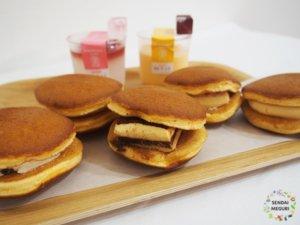 仙台「榮玉堂カフェ」どら焼きとスイーツ7種類を食べ比べ。一味違った味わいが美味