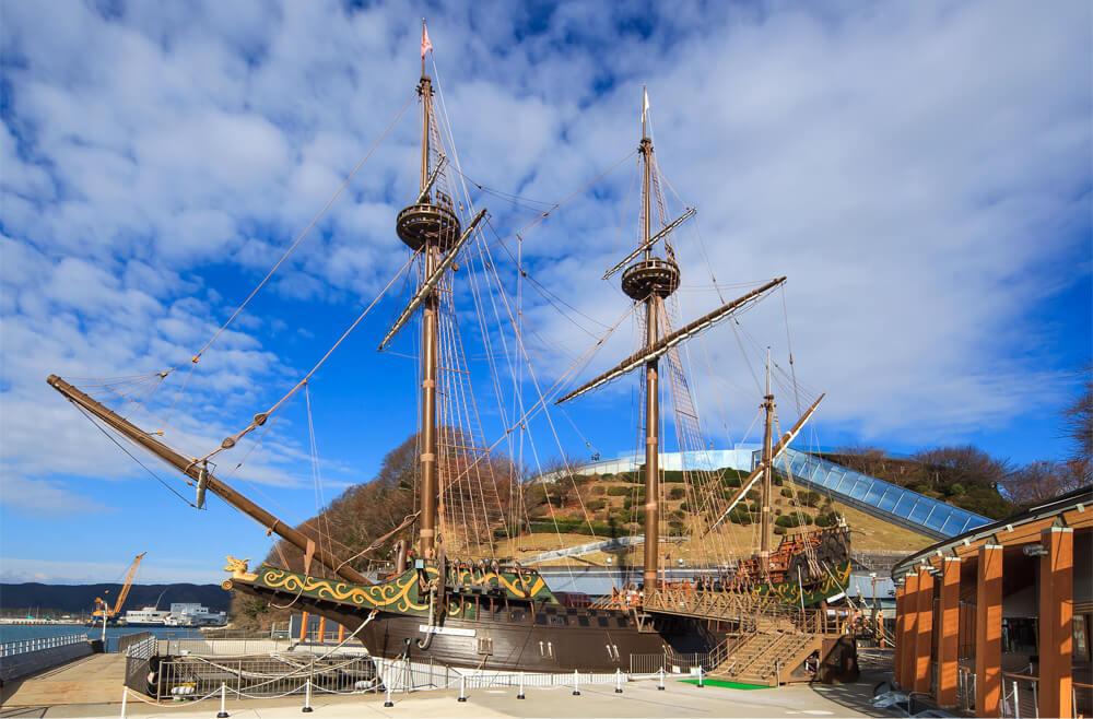 復元船「サン・ファン・バウティスタ」