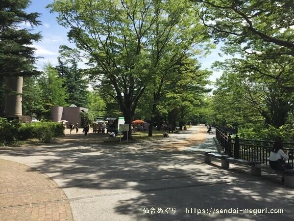 仙台の西公園