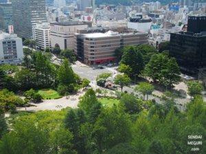 宮城県庁に来たら立ち寄りたいおすすめスポット!18階からの絶景は必見