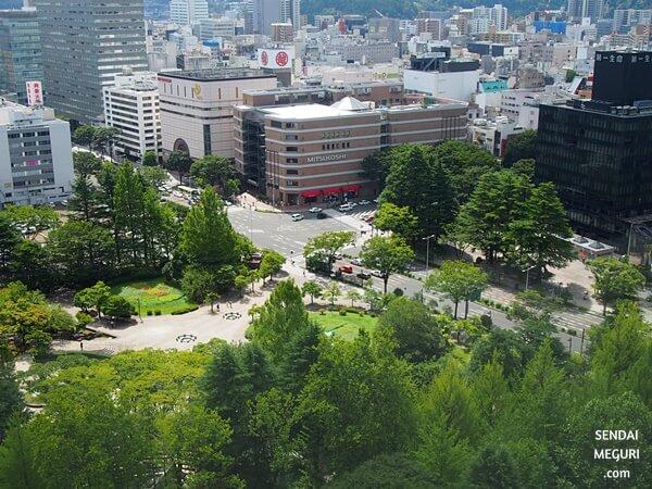 宮城県庁 18階展望ホール