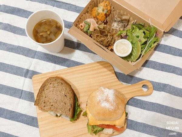 仙台「ing」イングのサンドイッチ・惣菜