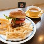 仙台宮町 EDGE STORE ハンバーガー