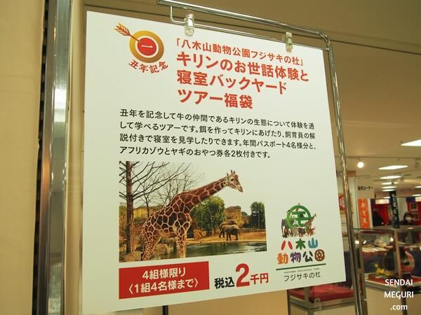 藤崎百貨店の特別企画福袋